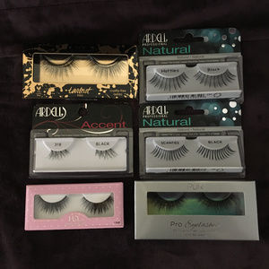 Lot of 6 sets of lashes